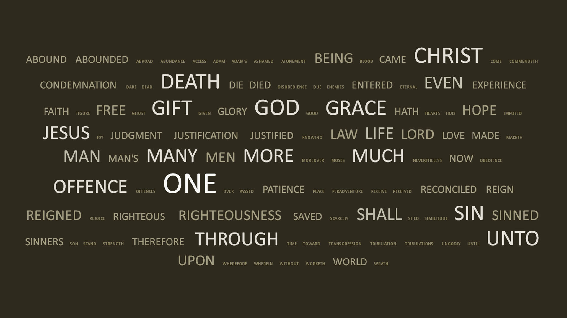 The Word, The Spirit, and Our Salvation | Grace Tidings